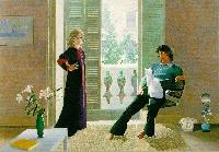 Hockney - Mr and Mrs Clark and Percy
