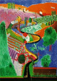Hockney - Nichols Canyon