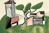 Picasso - Paysage au pin